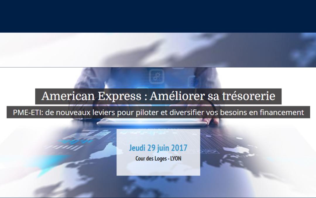 «Améliorer sa Trésorerie», un événement organisé par American Express et Les Echos